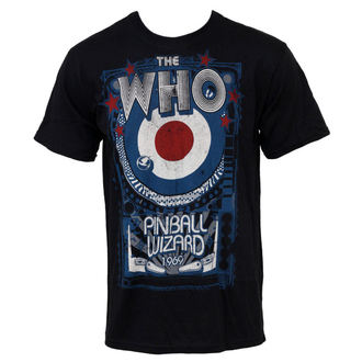 t-shirt metal Who - Pinball - LIQUID BLUE - 31968
