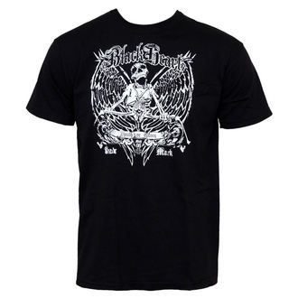 t-shirt street men's - Death Of Glory - BLACK HEART - Black