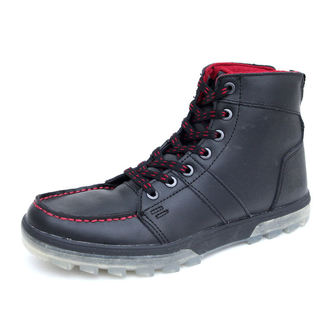 winter boots men's - DC - BLACK-RED
