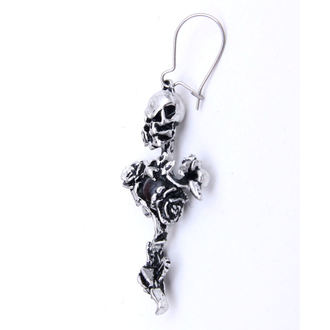 earrings Rose Thorn Cross - ALCHEMY GOTHIC