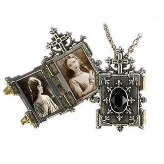 necklace Orthodox Icon Locket - ALCHEMY GOTHIC - P341