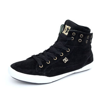 high sneakers women's - Asset Hi Le - DC - BLACK-CAMO