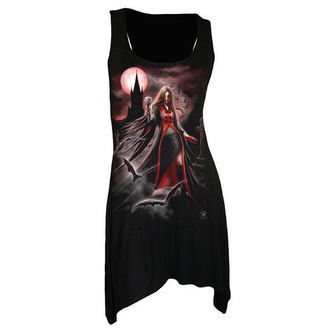 dress women SPIRAL - Blood Moon - Gothbotm Viscose