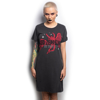 Women's dress LED ZEPPELIN - ICARUS - CHARCOAL - AMPLIFIED, AMPLIFIED, Led Zeppelin