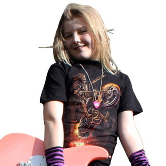 t-shirt children's - Hell Rider - SPIRAL - T025K101