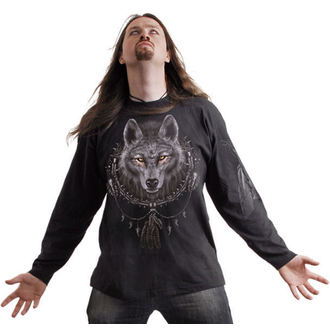 t-shirt men's - Wolf Dreams - SPIRAL - T035M301