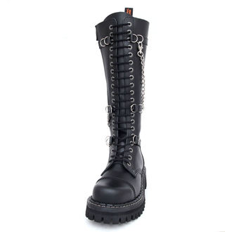 boots KMM 20 eyelets - Chain Black Monster