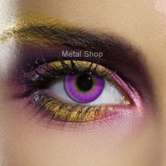 set contact lenses VIOLET 3 TONE a disinfecting set - EDIT - 82501
