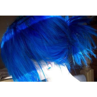 color to hair DIRECTIONS - Atlantic Blue