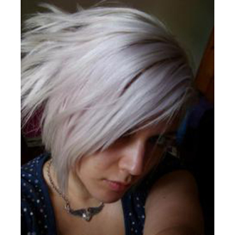 color to hair DIRECTIONS - Silver