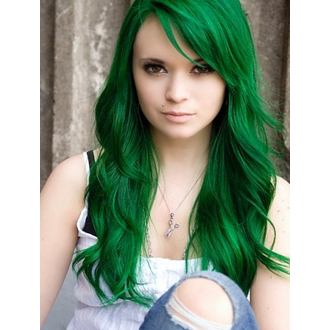 color to hair DIRECTIONS - Apple Green