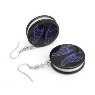 earrings POIZEN INDUSTRIES - EFBE2 Fairy Wing Disc