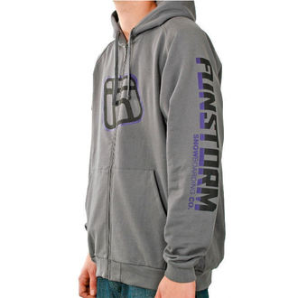 hoodie men's - Login - FUNSTORM - 20 D GREY