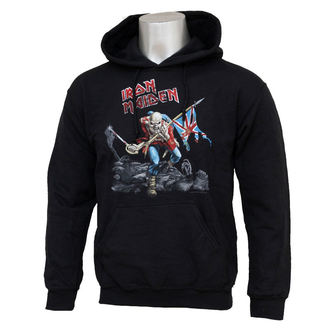 hoodie men's Iron Maiden - Trooper - ROCK OFF - IMHOOD02MB