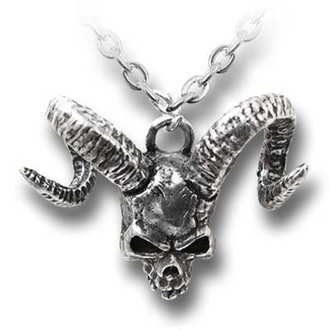 necklace Skull Of Azrael ALCHEMY GOTHIC - P620