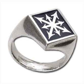 ring Chaos Signet' ALCHEMY GOTHIC