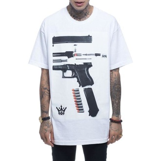 t-shirt hardcore men's - Dismantled - MAFIOSO - 54002-2