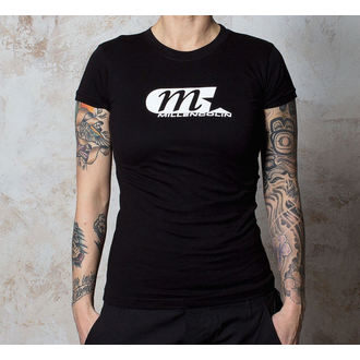 t-shirt women Millencolin - Logo - Black - BUCKANEER