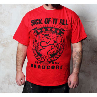 t-shirt metal men's Sick of it All - HC Crest - Buckaneer - 1295