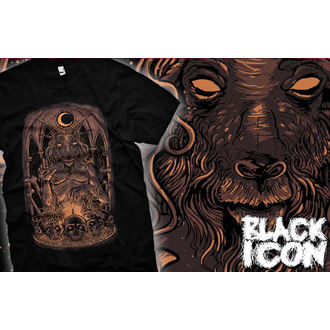 t-shirt hardcore men's - Baphomet - BLACK ICON