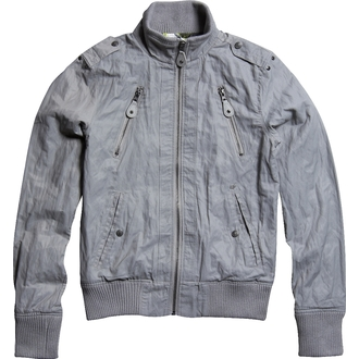 jacket women's spring/autumn -canvas- FOX - Trinity - GREY