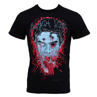t-shirt hardcore men's - Face - BLACK ICON - MICON019