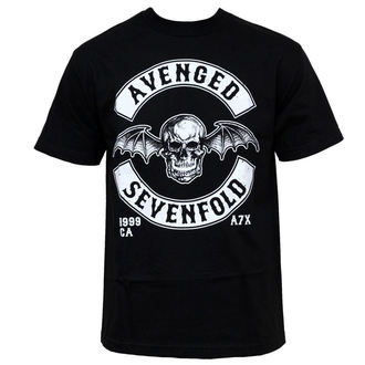 t-shirt metal men's Avenged Sevenfold - Dbat Crest - BRAVADO - AVN1233