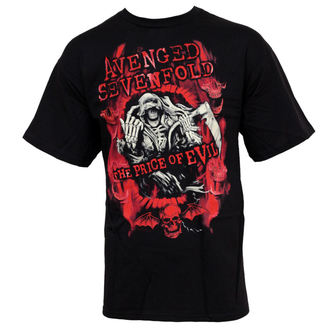 t-shirt metal men's Avenged Sevenfold - Flame Reaper Limited Tour - BRAVADO - AVN2121