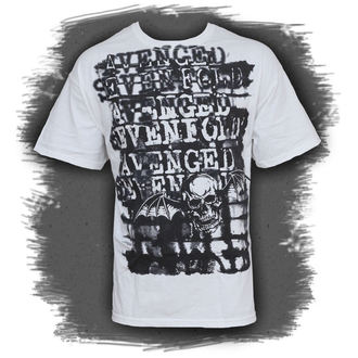 t-shirt metal men's Avenged Sevenfold - Ink Stripes - BRAVADO - 17951143