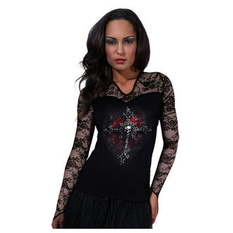 t-shirt women's - Vamp Fangs - SPIRAL - D019F434