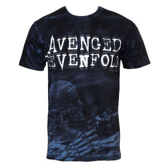 t-shirt metal Avenged Sevenfold - Skeleton Mist - BRAVADO - 17952109