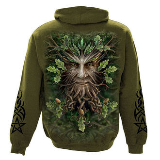hoodie men's - Oak King - SPIRAL