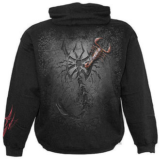 hoodie men's - Tribal Scorpion - SPIRAL - T052M451