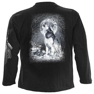 t-shirt men with long sleeve SPIRAL - White Wolf