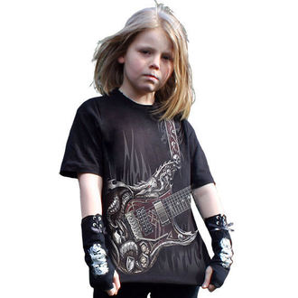 t-shirt children's - Air Guitar - SPIRAL - T056K101