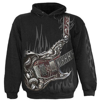 hoodie men's - Air Guitar - SPIRAL - T056M451
