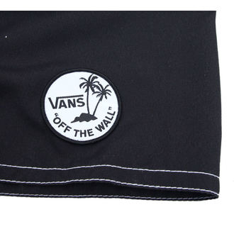 swimsuits men (shorts) VANS - Off The Wall - Black - VMEYBLK
