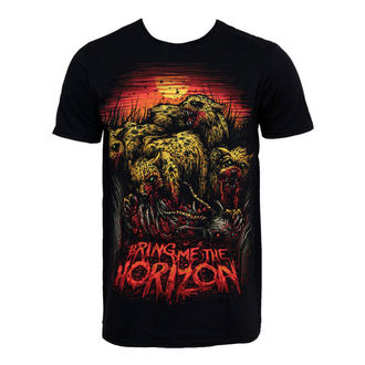 t-shirt metal men's Bring Me The Horizon - Cheetah - BRAVADO - 31921007
