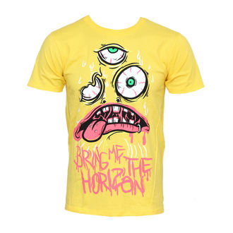 t-shirt metal men's Bring Me The Horizon - KK Yellow - BRAVADO - BMH1035