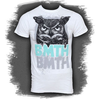 t-shirt metal men's Bring Me The Horizon - Owl - BRAVADO - BMH1018