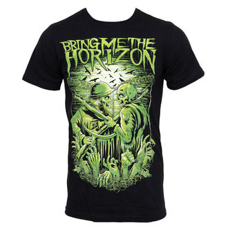 t-shirt men Bring Me The Horizon - WWIII Limited - Bravado USA