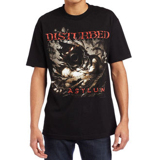 t-shirt metal men's Disturbed - Asylum Shred - BRAVADO, BRAVADO, Disturbed