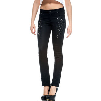 pants women IRON FIST - Time To Shine - BLACK