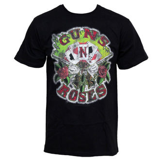 t-shirt metal men's Guns n Roses - Cards - BRAVADO - GNR2042