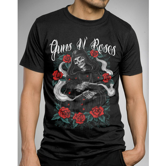 t-shirt metal men's Guns N' Roses - Roses Reaper - BRAVADO - 12161311