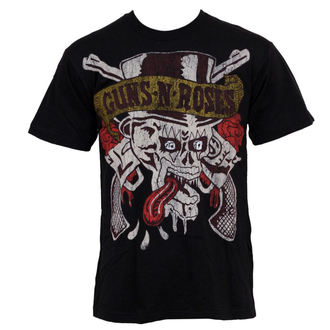 t-shirt metal men's Guns N' Roses - Tongue Skull - BRAVADO - 12161157