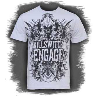 t-shirt metal Killswitch Engage - Medieval Crest - BRAVADO - 95141052