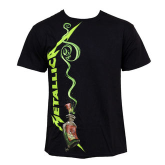 t-shirt metal men's Metallica - Cyanide Bottle - BRAVADO - MET2097
