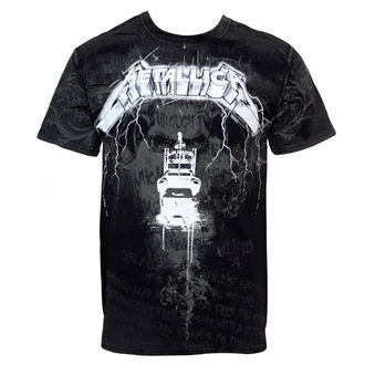 t-shirt metal men's Metallica - Lightning Chair - BRAVADO - MET2080