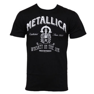 t-shirt men Metallica - Whiskey Label - Bravado USA - MET1024